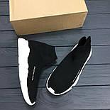 Кроссовки Balenciaga Black Speed Trainer. Топ качество. Живое фото (Реплика ААА+), фото 3