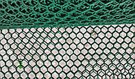 Сітка для огорожі пластикова СОТИ (рулон 1 м*30 м, комірка 2*2 см, вага 10 кг) / Сетка для ограждения пластик.