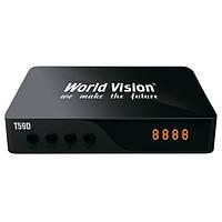Тюнер Т2 World Vision T59D DVB-T2 Dolby Digital AC3 (World Vision T59D)