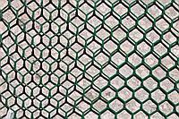 Сітка для огорожі пластикова СОТИ (рулон 1,5 м*30 м, комірка 2*2 см, вага 15 кг) / Сетка для ограждения пласт.