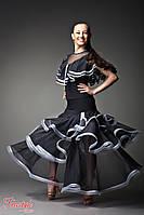 """Юбка для бальных танцев """"Танго"""" 200 р. 32 - р. 36, фото 1"""