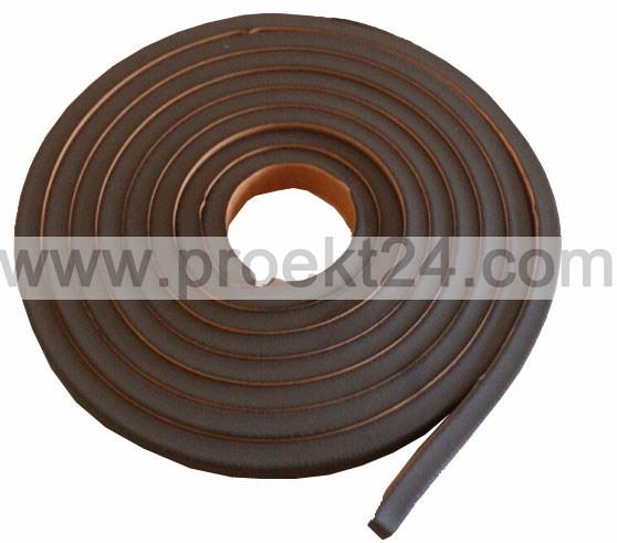 Бентонитовый шнур, сечение 15*25мм., 5п.м.