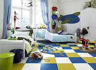 Мягкое покрытие пола для детских комнат