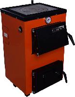 Котел Твердотопливный ВИТЯЗЬ 15 кВт с плитой