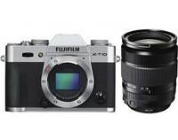 Фотокамера Fujifilm X-T10 + XF 18-135mm Silver
