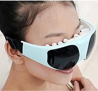 Массажные очки. Масажер для зняття втоми очей з неодимовими магнітами