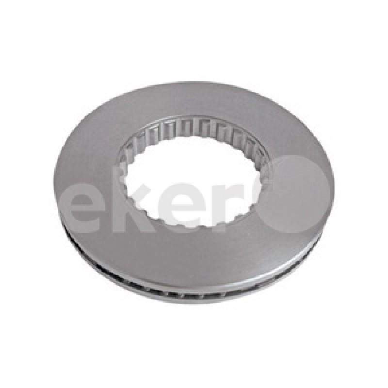 ED04011 Диск тормозной VOLVO FH 434*45 передний/задний (не вентелируемый)