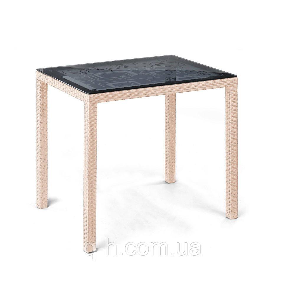 Плетеный столик Галант из искусственного ротанга