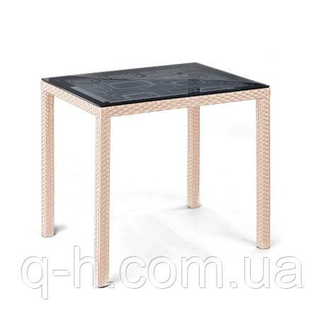 Плетеный столик Галант из искусственного ротанга, фото 2