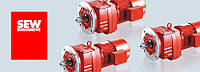 Цилиндрические мотор-редукторы (Серия R) SEW-EURODRIVE