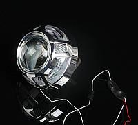 """Маска для ксеноновых линз 3.0"""" со светодиодами CREE : Porsche Macan LED CREE DRL"""
