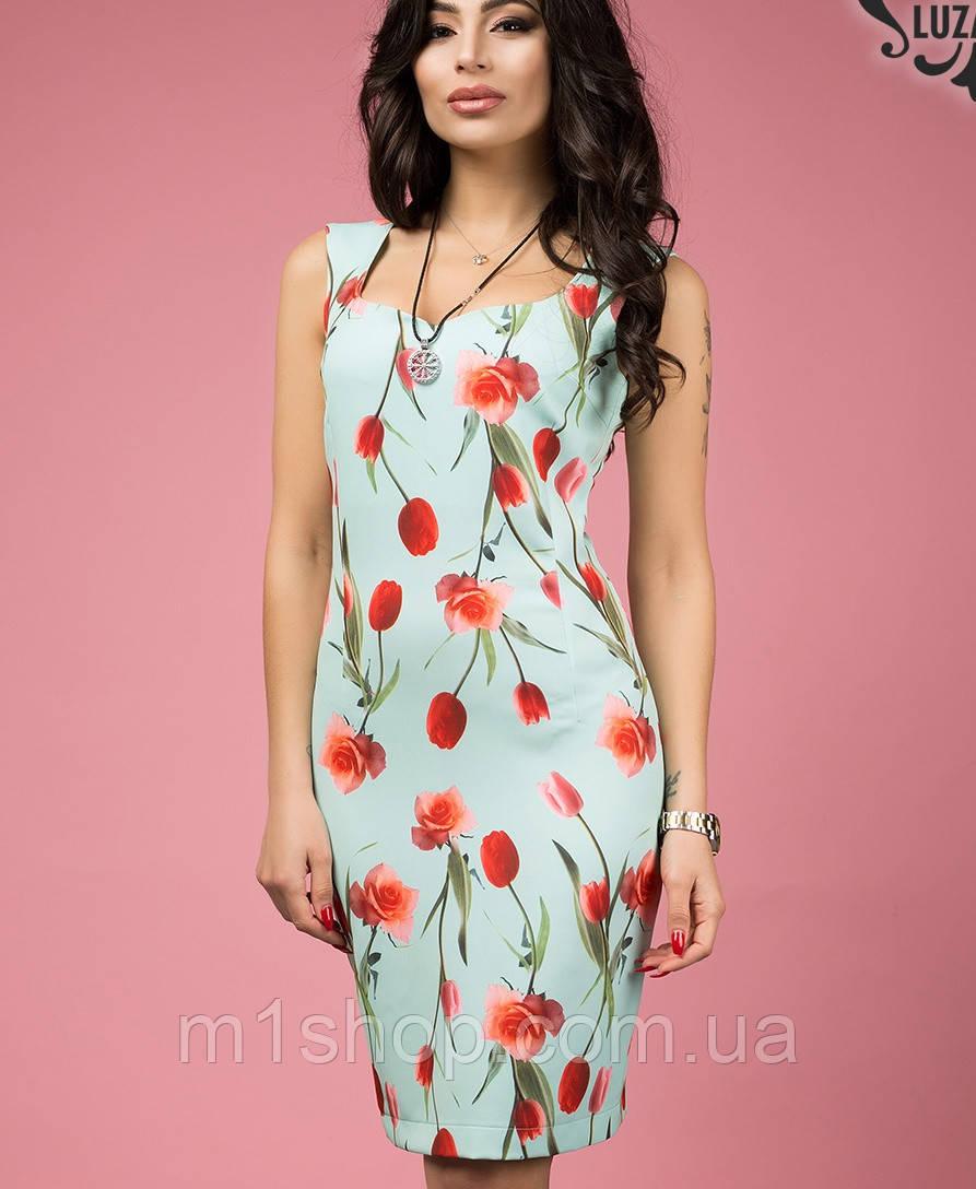 Платье с цветочным узором (Арлет lzn)