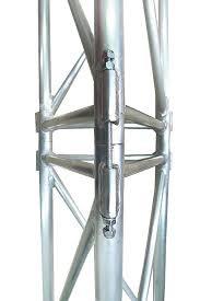 Мачта трехгранная алюминиевая М440 H=12m