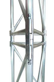 Мачта алюминиевая трехгранная М440 H=16m
