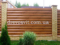Блок хаус сосна для внутренних и наружных работ Рава-Русская