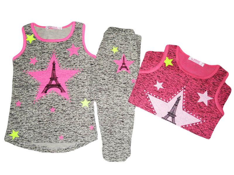 Комплект-двойка для девочки, размеры 116,134 GRACE, арт. G-70330