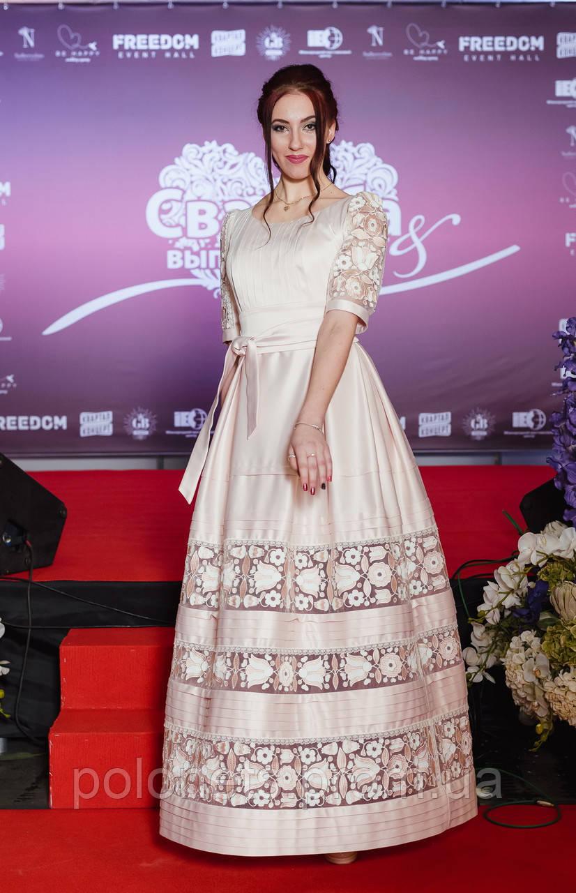 39e2daa02ec0f5 Ексклюзивна сукня з вишивкою - Дизайн-студія Оксани Полонець в Киеве