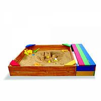 Песочница с лавочками Sportbaby