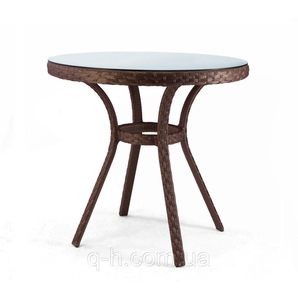 Круглый стол Bluz из ротанга