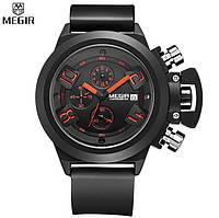Мужские часы Megir U-series 2002 Хронограф. Гарантия 6 мес.