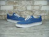 Кеды женские Vans 30324 синие, фото 3