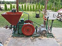 Пресс ударно-механический для брикетирования соломы, дерева, шелухи