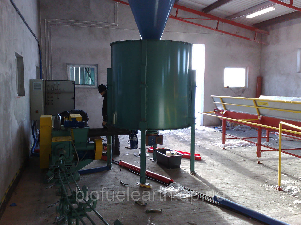 Пресс для брикетирования отходов Wektor (Вектор) BT60