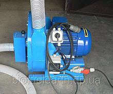 Молотковая дробилка зерна (11 кВт, 500 кг/час)