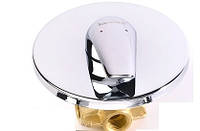 KRINICE смеситель скрытого монтажа без верхнего душа, IMPRESE VR-15110 (Z)