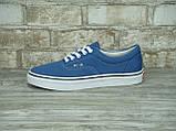 Кеды мужские Vans 30325 синие, фото 2