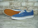 Кеды мужские Vans 30325 синие, фото 4