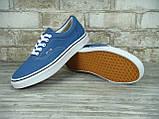 Кеды мужские Vans 30325 синие, фото 5