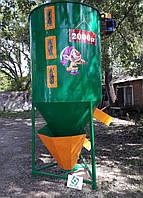 Кормовой смеситель ГНОМ 2 т мини комбикормовая, фото 1