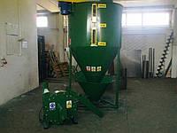 Смеситель сыпучих кормов Adraf 1000 кг