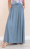 Женская юбка Latia Zaps цвета джинс, коллекция весна-лето 2017.