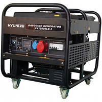 Hyundai HY 12000 LE-3 генератор бензиновый (для дома)