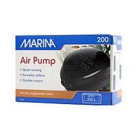 Hagen Marina Air Pump 200 (11116) -компрессор двухканальный для аквариума