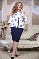 Жакет Саломея большого размера 48-94 батал
