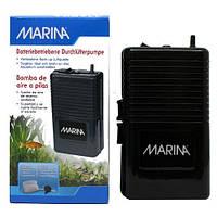 Hagen Marina (11134) -компрессор на батарейках одноканальный для аквариума