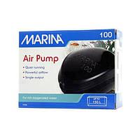 Hagen Marina Air Pump 100 (11114) -компрессор одноканальный для аквариума