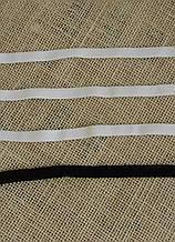 Резинка для белья белая-G2353-10, ширина 10мм(нарезаем от 100м)