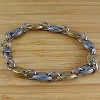 Изысканный стальной браслет