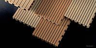 Topakustik, МДФ, искусственный шпон, венге, дуб, тик, бук, орех, клен 4086х128х16