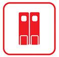 Маятниковые двери двустворчатые