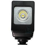 Накамерный компактный светодиодный свет LED-VL013 + АБ + З/У.500K (3200K/фильтр).