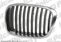 Решетка радиатора правая (хром/черная) .00- на BMW 5 (E39) 01.96 - 06.04