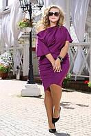 Платье Гармония фуксия большого размера 48-94 батал