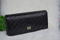 """Кошелек в стиле """"Chanel"""" (Шанель) черный."""