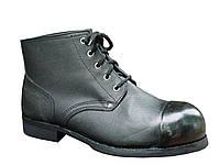 Ботинки юфть гвоздевой с наружным металоноском МУН200