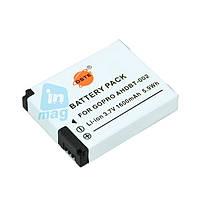 Аккумулятор AHDBT-002 для видеокамеры GoPro Hero 2 и GoPro Hero, 1600 mAh.